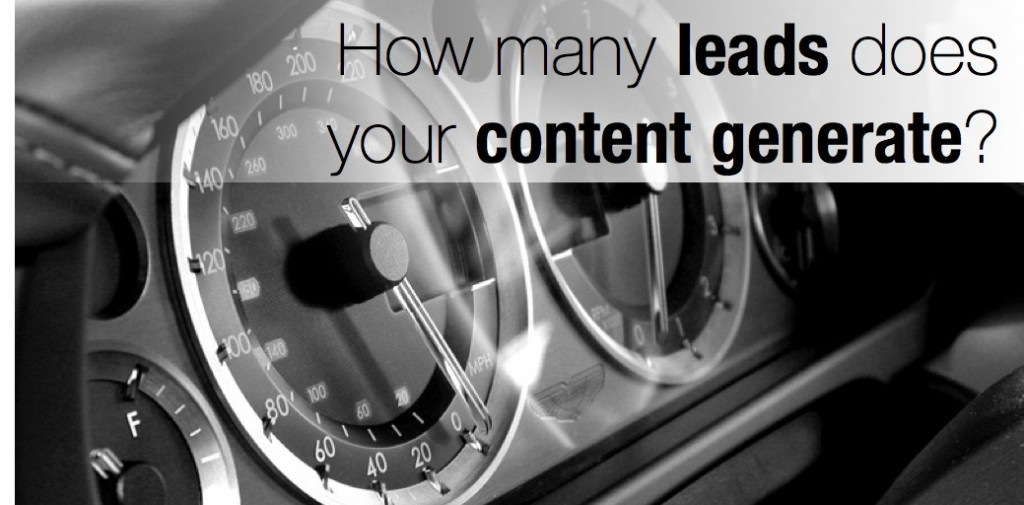 How many leads does your content generate