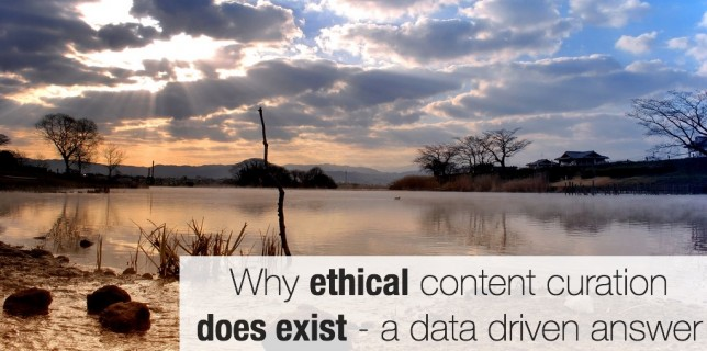 Does ethical content curation exist