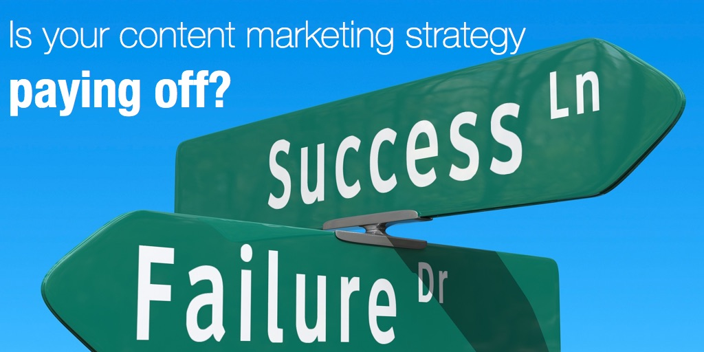 Is your content marketing strategy paying off?