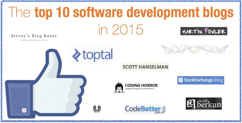 The top 10 software development blogs in 2015
