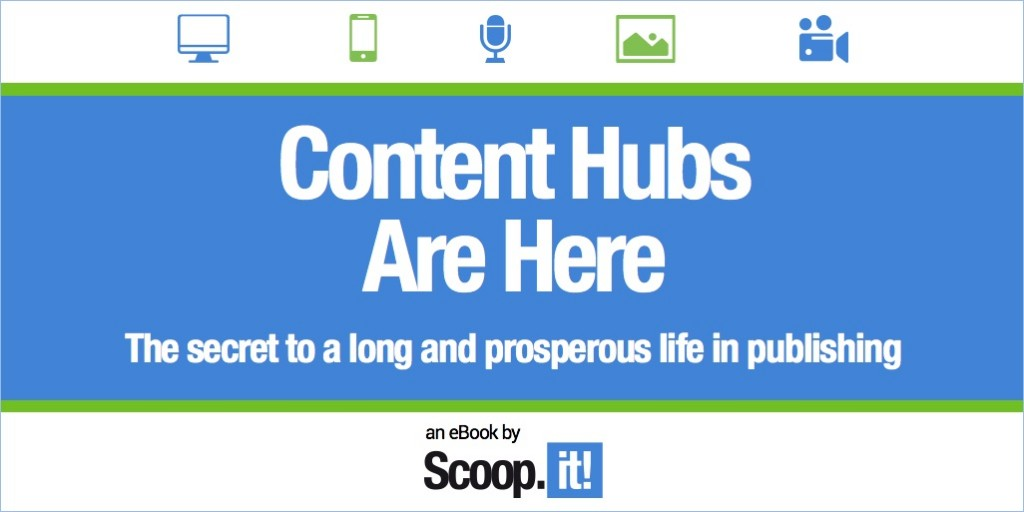 Content hubs are here - the secret to a long and prosperous life in publishing - ebook by scoopit and barry feldman