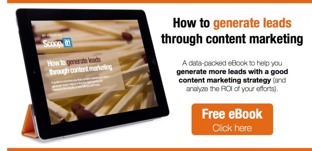 how to generate leads through content marketing cover image