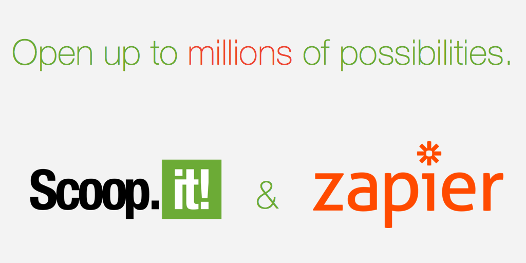 Connect Scoop.it to your favorite apps with Zapier