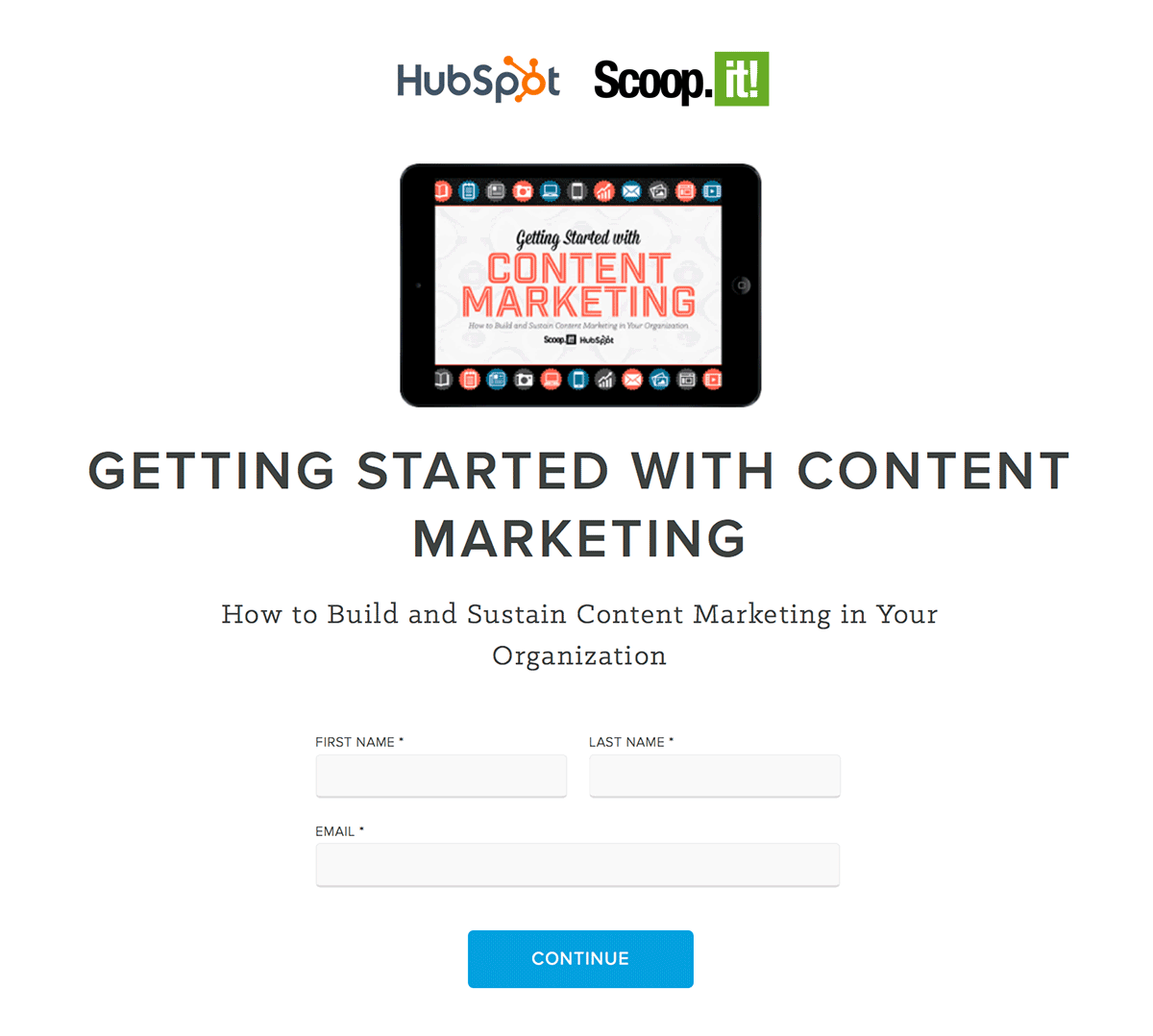 We recently gave content co-creation a spin ourselves with this new ebook we've just co-published with Hubspot.