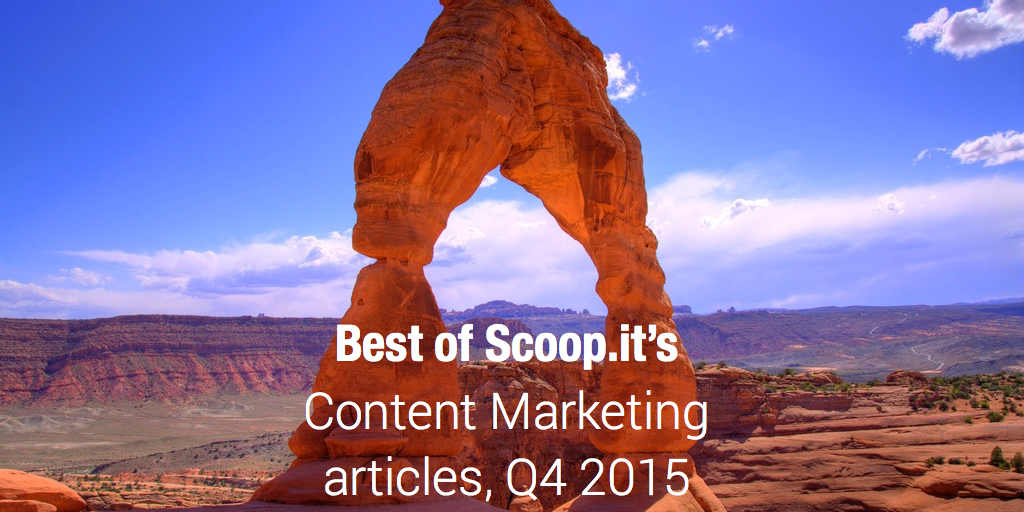 Best of content marketing articles, Q4 2015