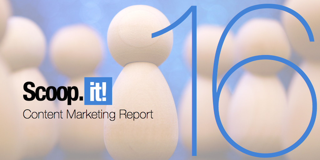 scoop.it annual content marketing report 16