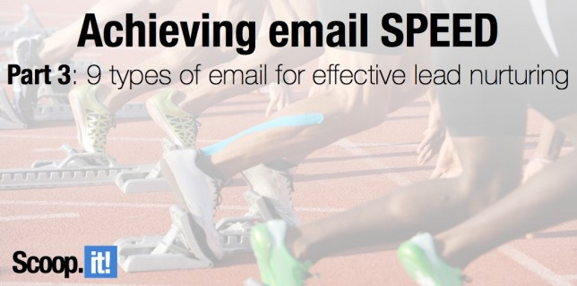 9 types of email for effective lead nurturing