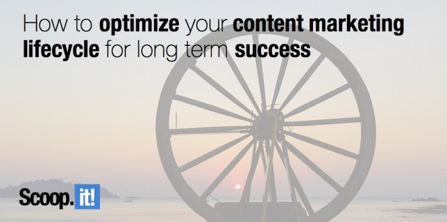 How to optimize your content marketing lifecycle for long term success