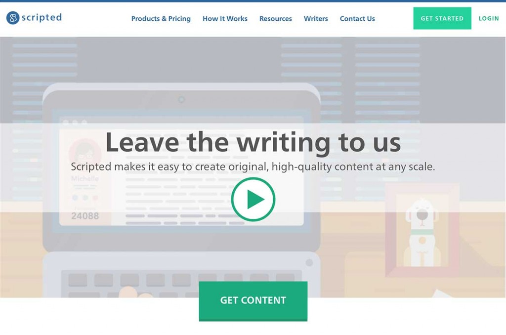 outsource content creation, find freelance writers