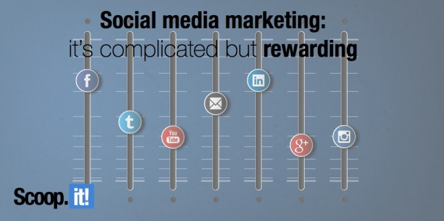 Social media marketing- it's complicated but rewarding