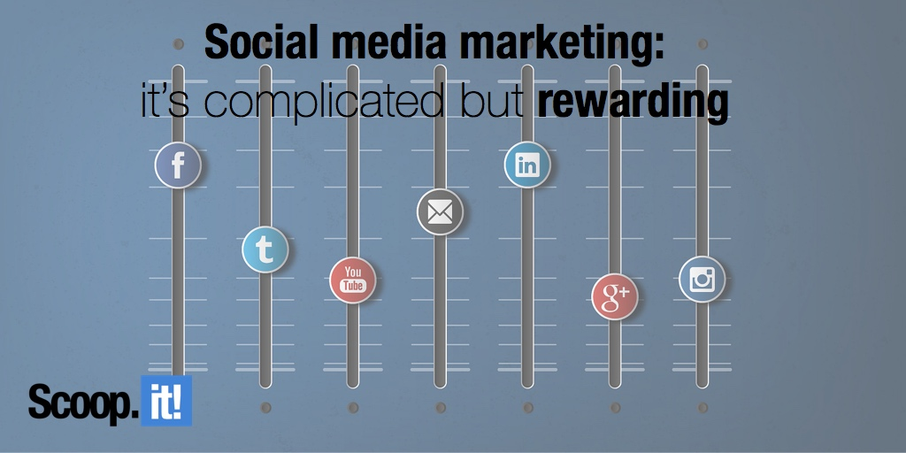 Social media marketing- it's complicated but rewarding