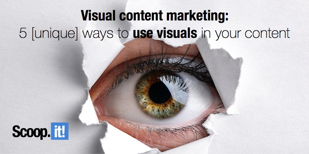 5 unique ways to use visuals in your content