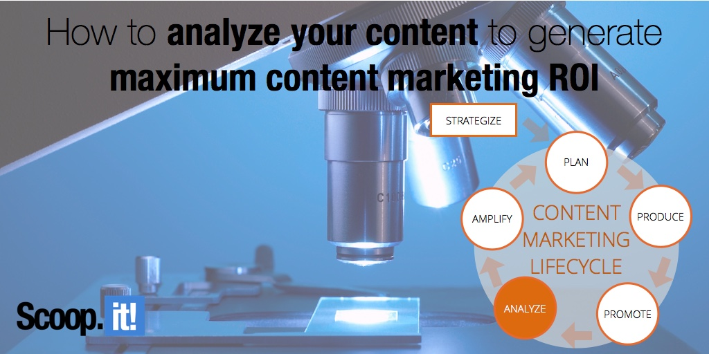 how to analyze your content to generate maximum content marketing ROI phase 5 content marketing lifecycle