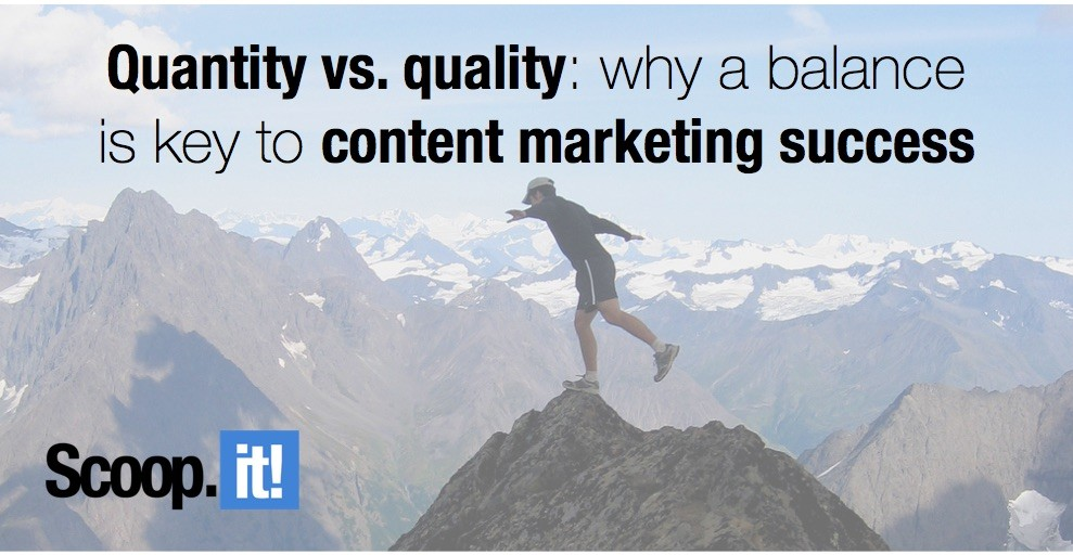 quantity vs quality why balance is key to content marketing success
