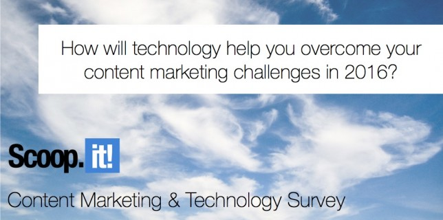 content marketing and technology survey