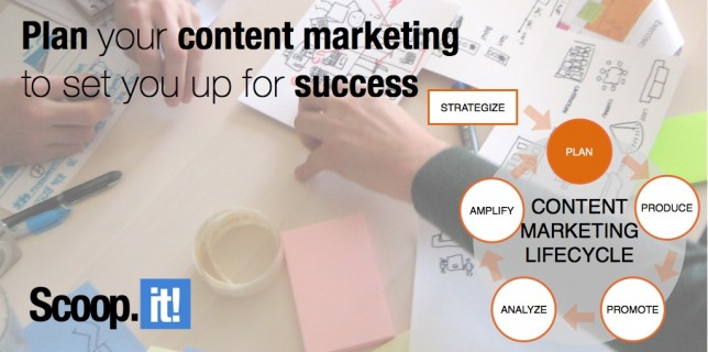 plan your content marketing to set you up for success
