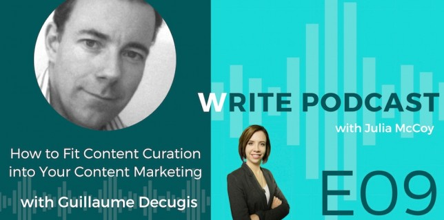 podcast how to fit content curation into your content marketing successfully