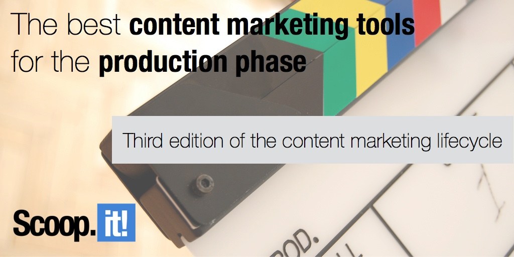 best content marketing tools for the production phase