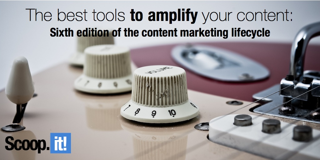best tools to amplify your content marketing content marketing lifecycle amplify phase