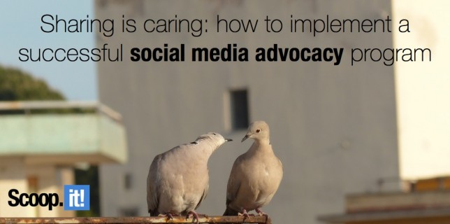 sharing is caring how to implement a successful social media advocacy program