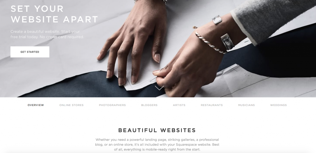 5 core tenets of clean web design squarespace