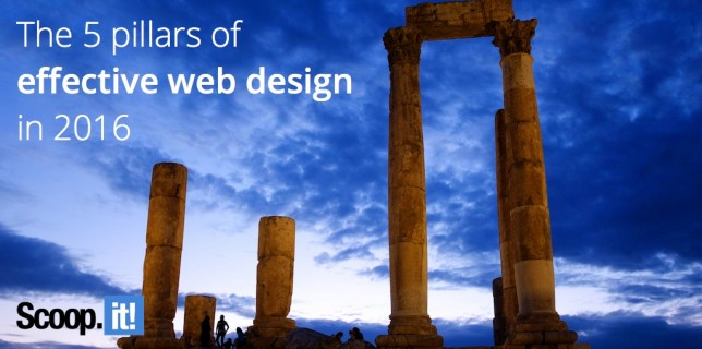 the 5 core tenets of effective web design in 2016