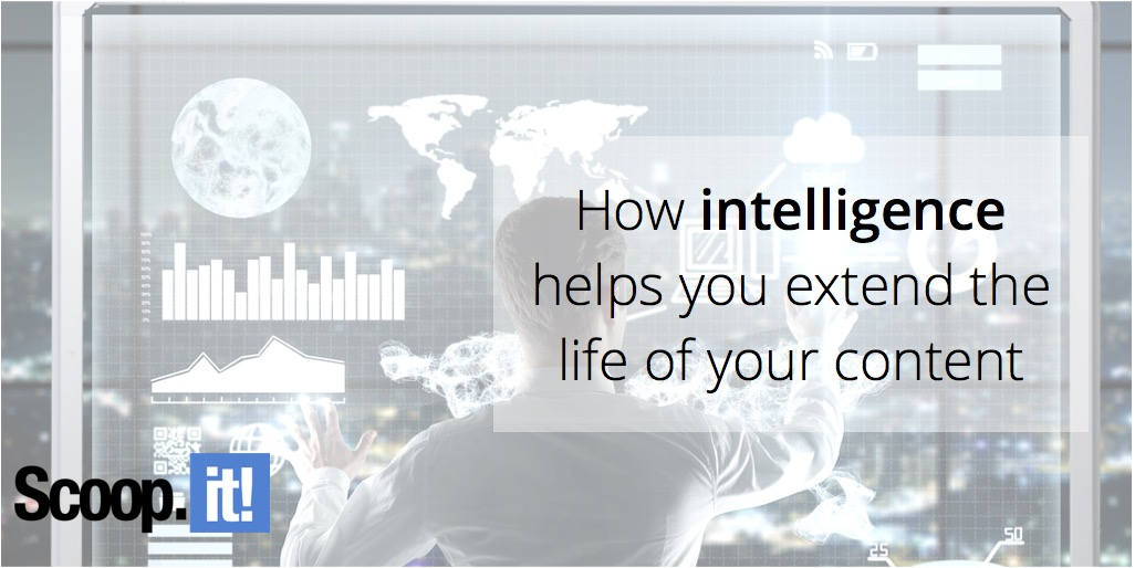 intelligence helps you extend the life of your content