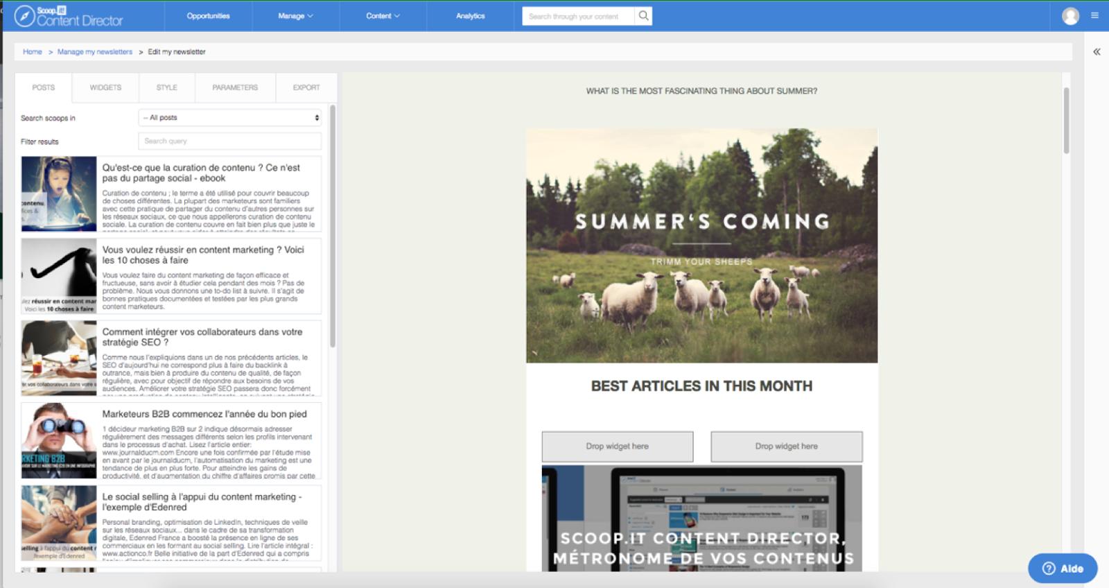 newsletter editor scoop.it content director