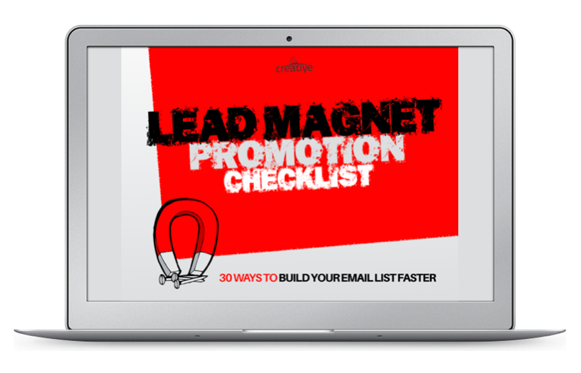 Lead magnet promotion checklist