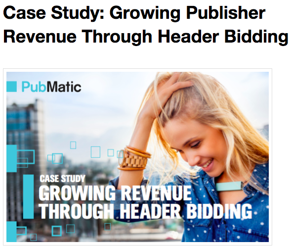 Case study by pubmatic