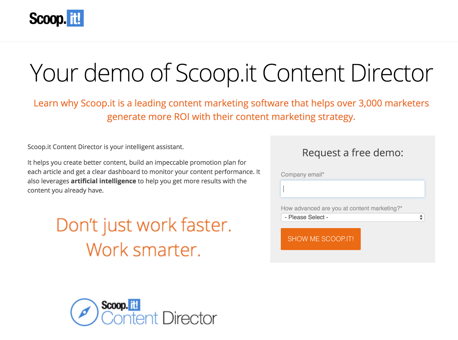 demo scoop.it content director