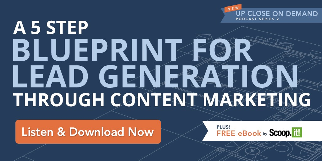 A 5 step blueprint for lead generation through content marketing a 5 step blueprint for lead generation through content marketing podcast series malvernweather Choice Image