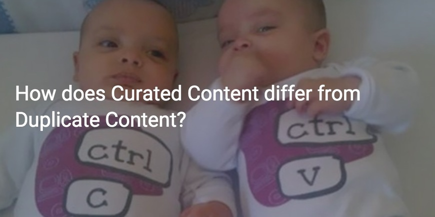 Duplicate content twins