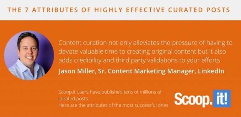 the 7 attributes of highly effective curated posts