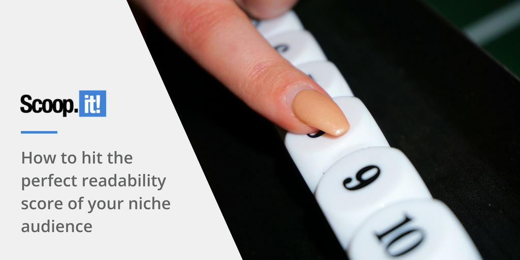 how to hit the perfect readability score of your niche audience