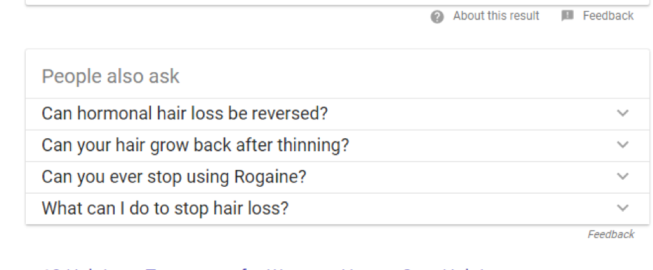 google related questions