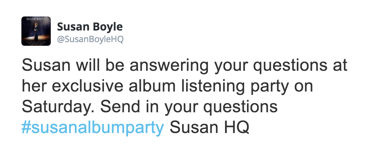 Five years on from #susanalbumparty, we still have some questions |  JOE.co.uk