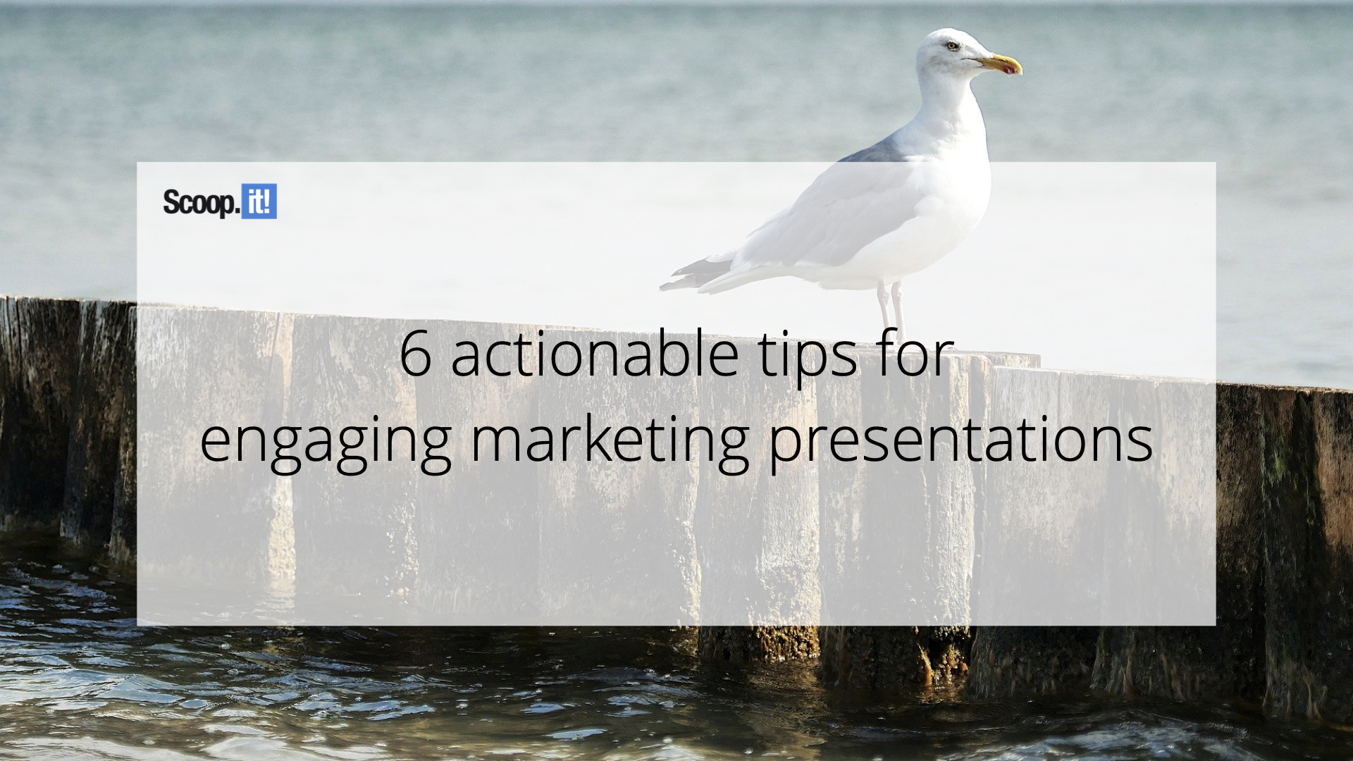 6 Actionable Tips for Engaging Marketing Presentations