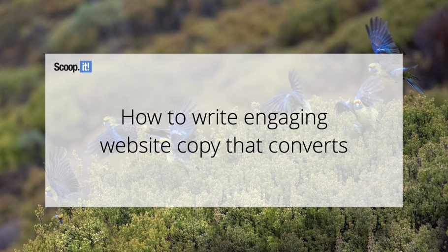How to Write Engaging Website Copy That Converts